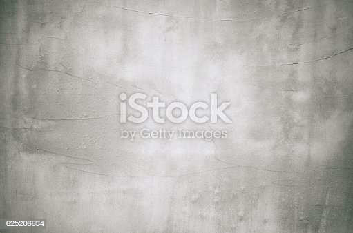 istock Close-up gray grunge old wall cracked texture concrete cement background 625206634