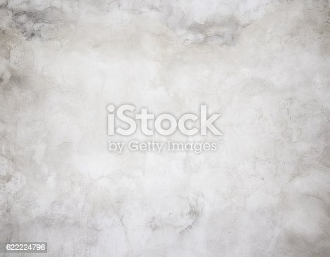 istock Close-up gray grunge old wall texture concrete cement background 622224796
