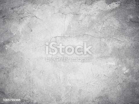 Close-up gray scratched grunge old wall texture background