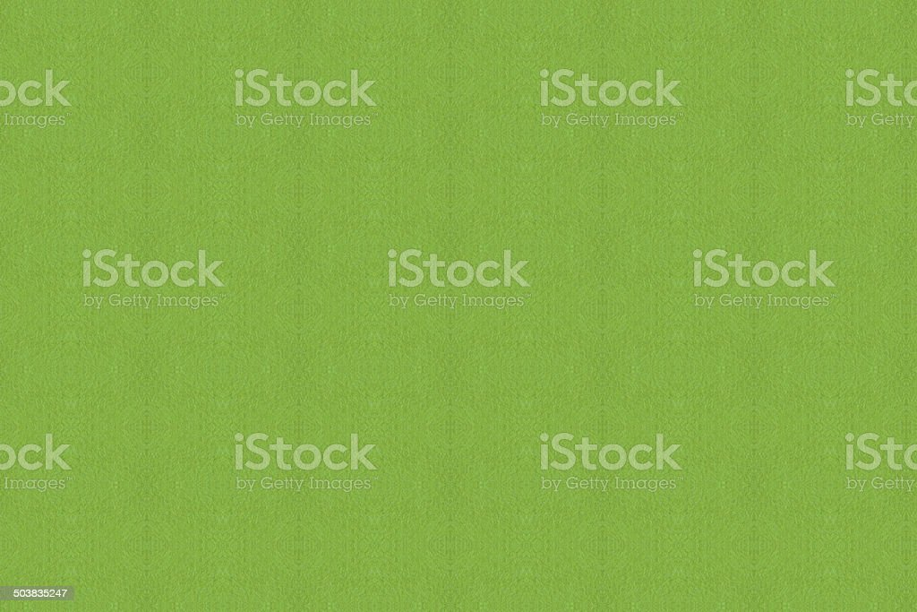 Closeup green paper stock photo