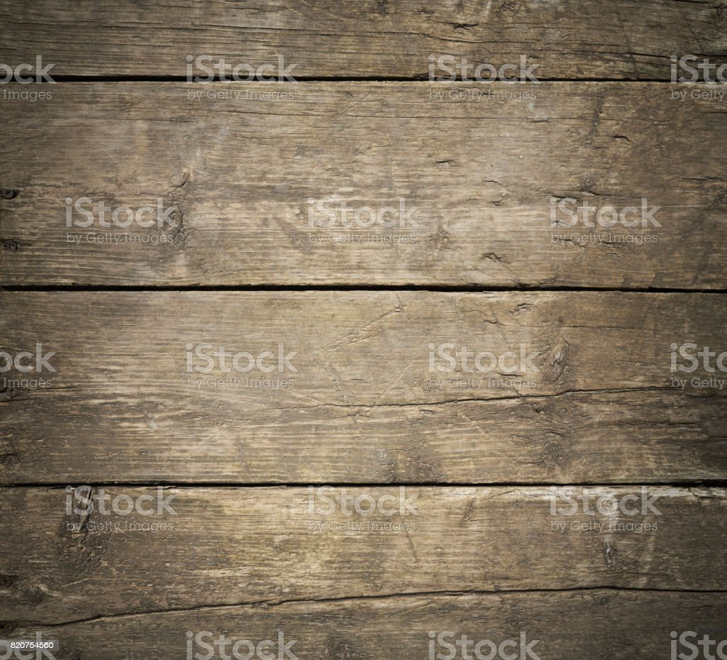Close-up grunge old wood board wall texture stock photo