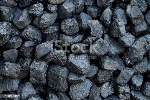 Close-up - heap of coal