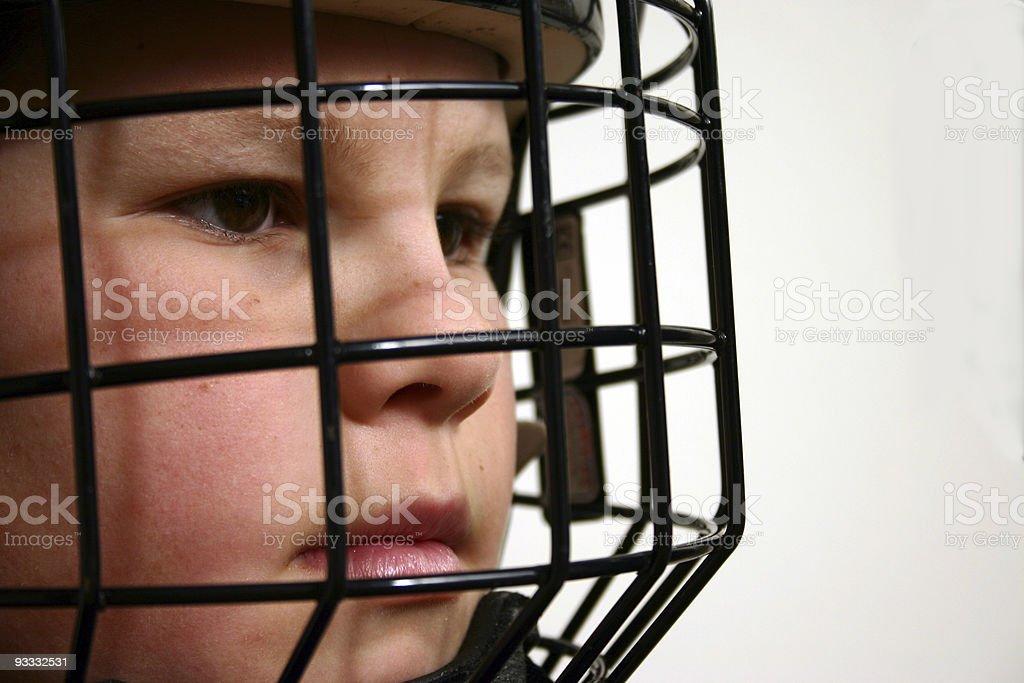 close-up hockey stock photo
