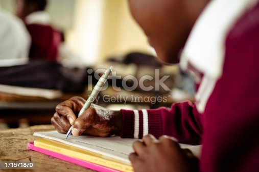 istock Closeup image of South African girl with badly scarred hand 171571870