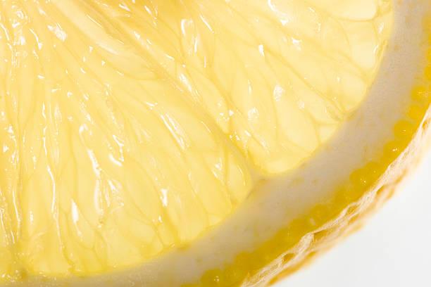 Close-up Lemon Slice stock photo