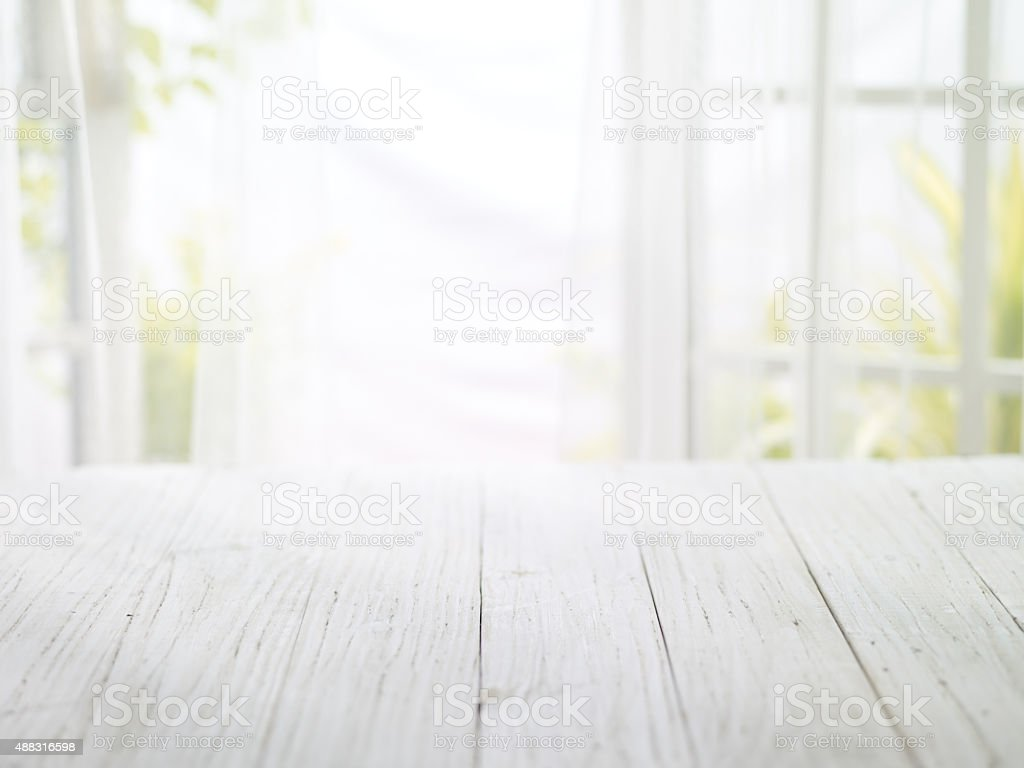 close-up look at wooden with morning bright stock photo