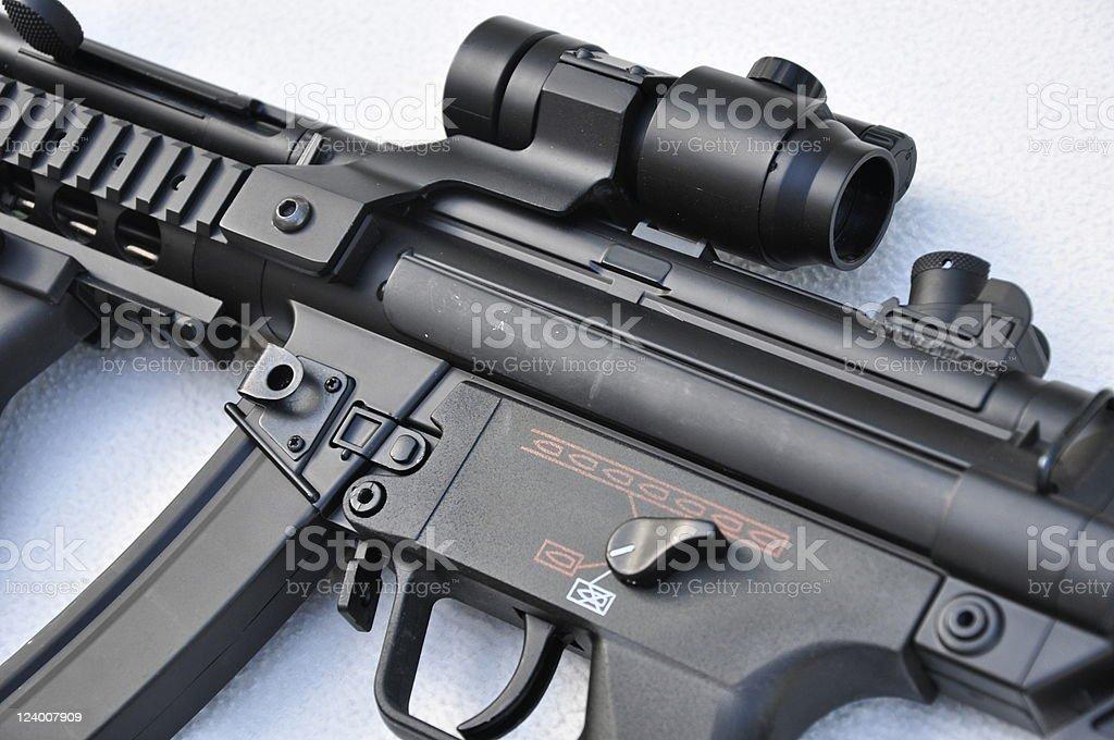 Closeup Machine Gun royalty-free stock photo
