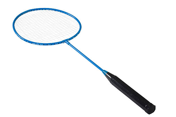 close-up of a badminton racket - racket stock pictures, royalty-free photos & images