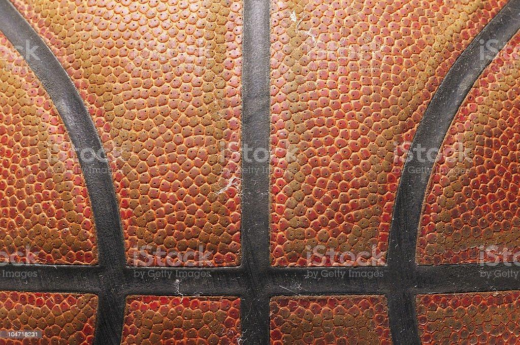 closeup of a basketball ball stock photo