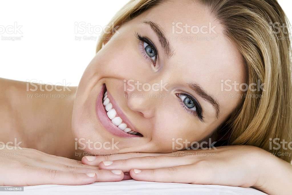 Nahaufnahme einer schönen Frau – Foto