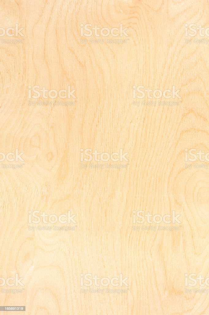 Close-up of a birch plywood pattern stock photo