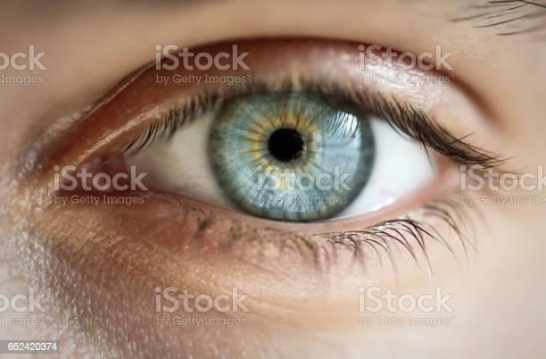 eye - Lizenzfrei Betrachtung Stock-Foto