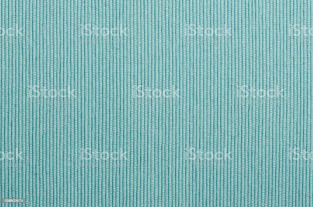 Closeup of a blue fabric texture stock photo