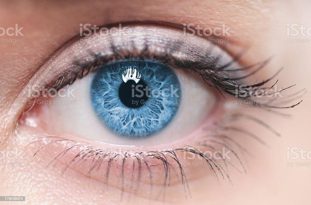 El ojo - foto de stock
