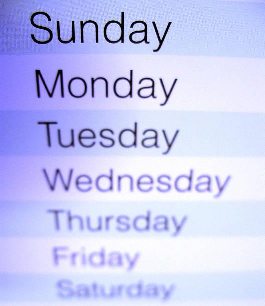 Nahaufnahme von einem Kalender 3 – Foto