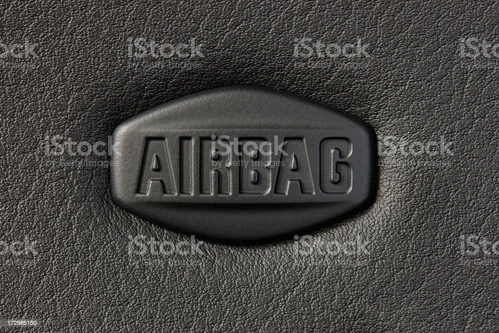Señal de Airbag - foto de stock