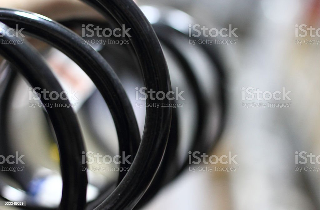 Close-up of a car stock photo
