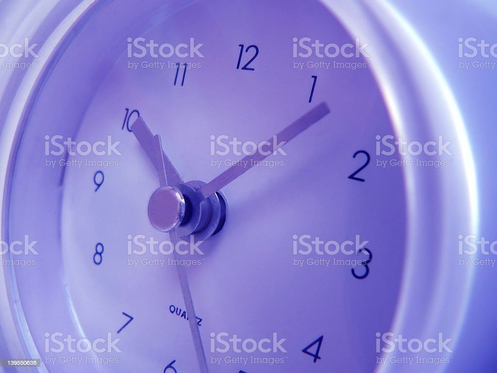 Close-up of a Clock royalty-free stock photo