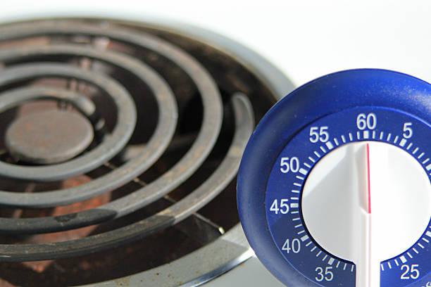 Nahaufnahme eines Kochen-Stoppuhr – Foto