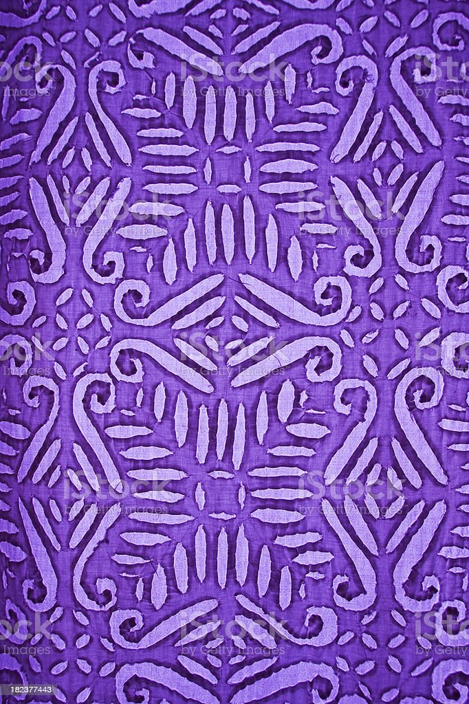 closeup of a curtain pattern royalty-free stock photo