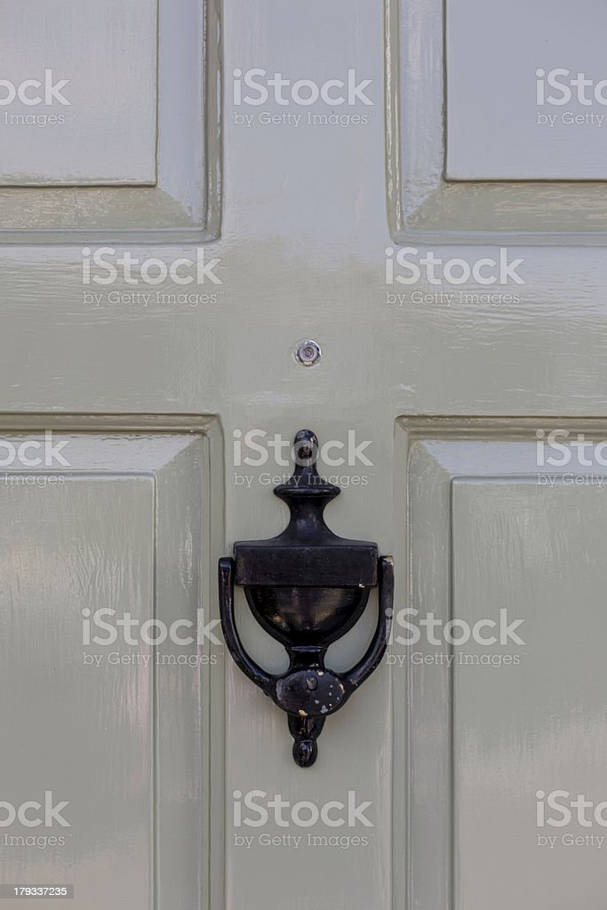 Close-up of a Door royalty-free stock photo