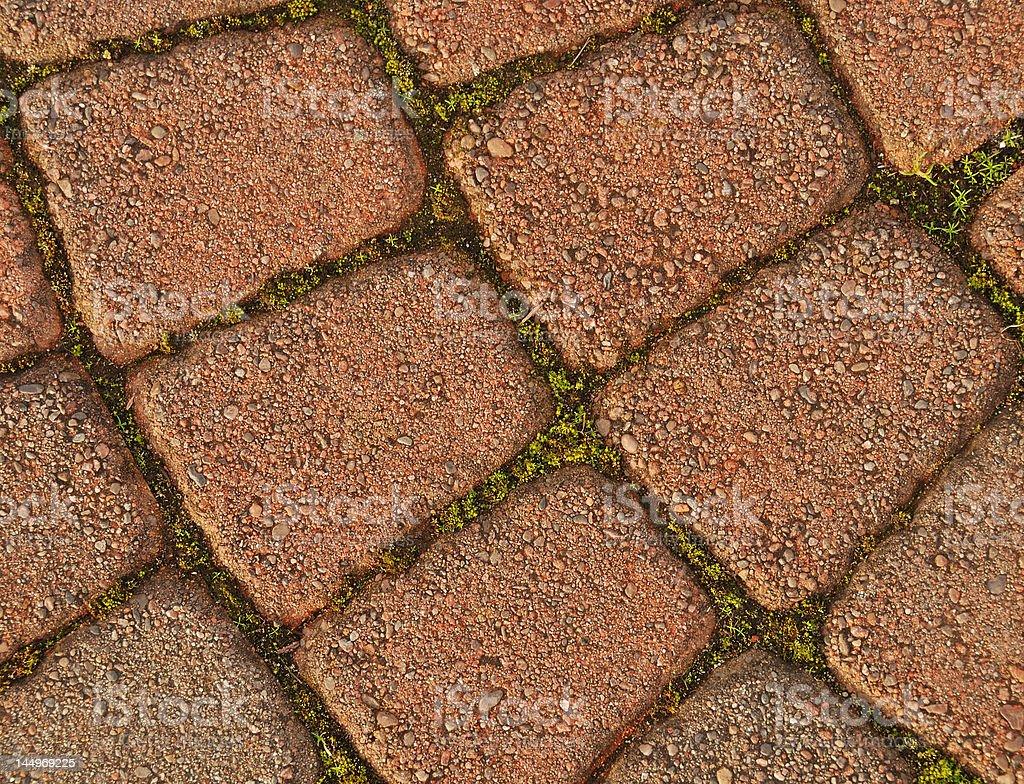 Close-up of a Garden Path stock photo
