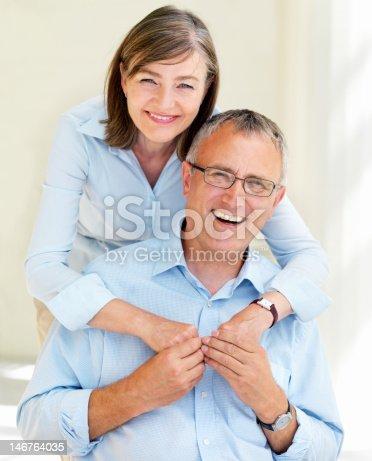 518911782istockphoto Close-up of a happy senior couple having fun 146764035