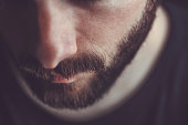 istock Closeup of a man beard and mustache 992338840