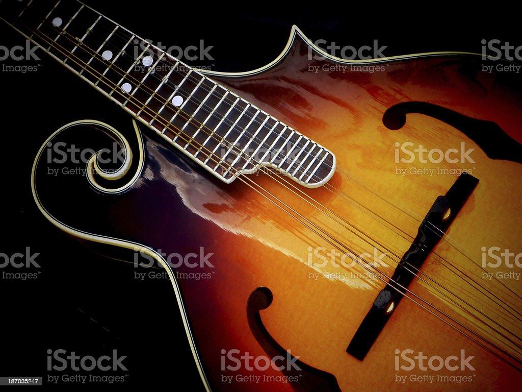 Close-up of a Mandolin stock photo