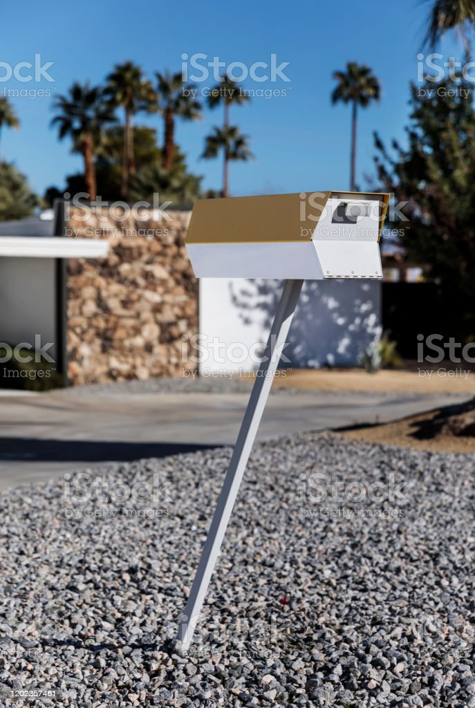 Image of: Closeup Of A Midcentury Modern Mailbox Stock Photo Download Image Now Istock