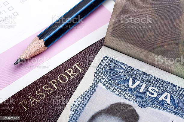 Closeup of a pencil a passport and a visa document picture id180924637?b=1&k=6&m=180924637&s=612x612&h=jthtrg9z6ucqausl pu4ogmrb8nt7y4hp 3xvuocm58=