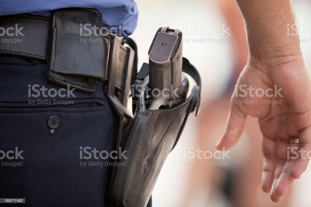 Policial - foto de acervo
