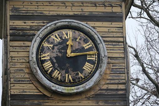 Graz Clock Tower in Schlossberg