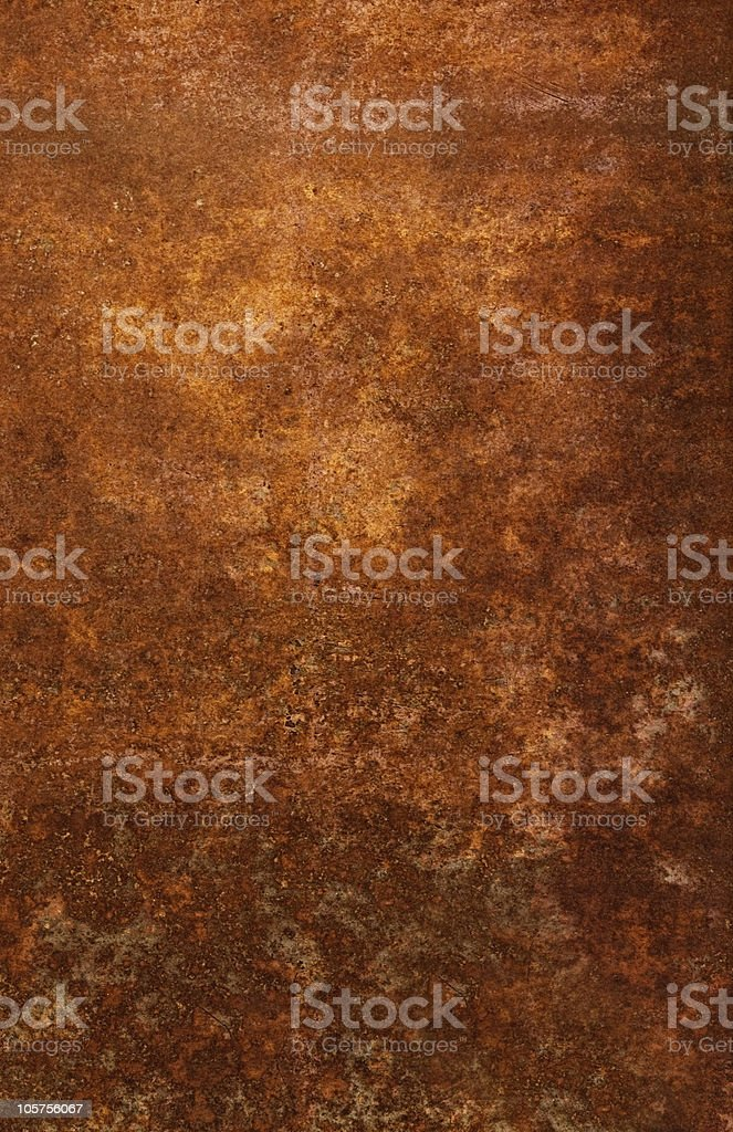 A close-up of a rust background stock photo