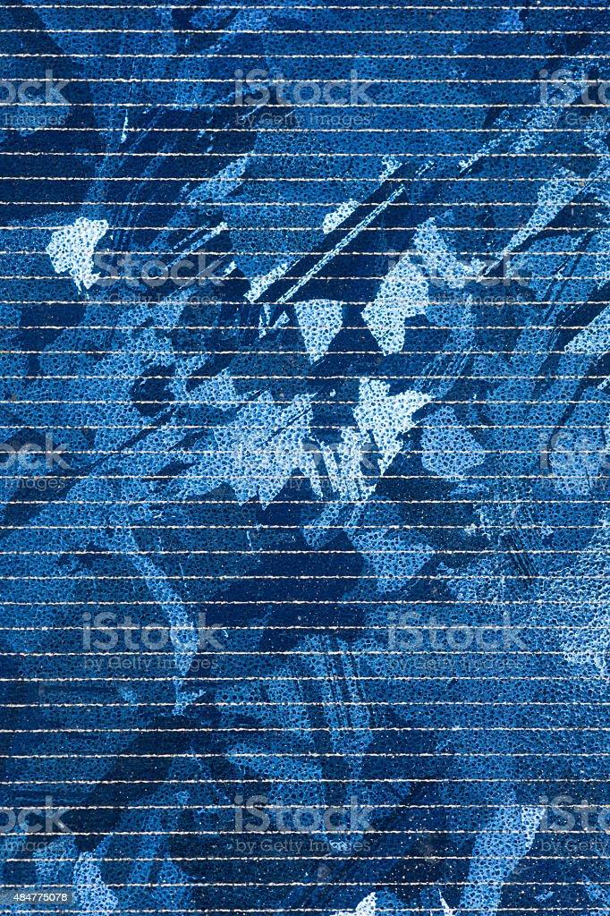 Nahaufnahme von einem solar-Zelle – Foto