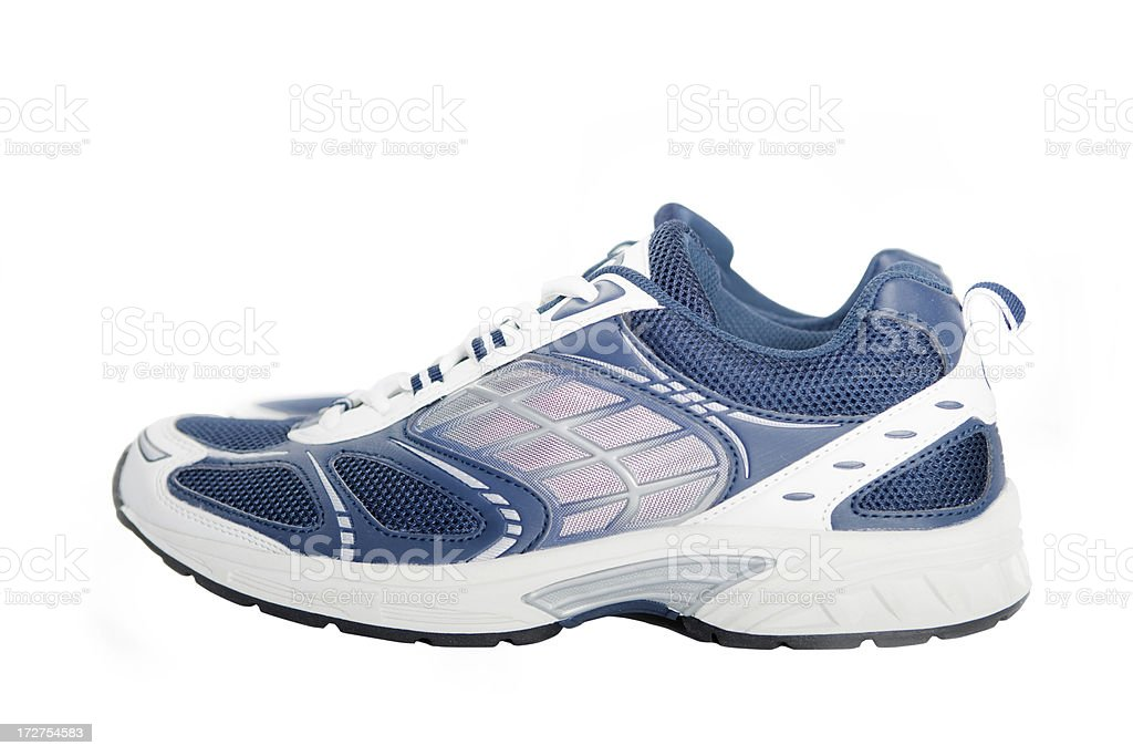 Close-up of a sports shoe royalty-free stock photo