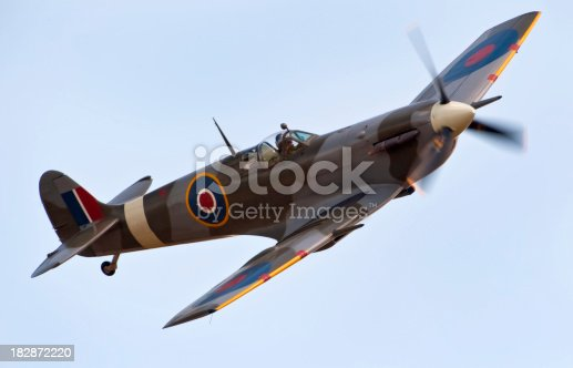 A Classic World War Two Spitfire