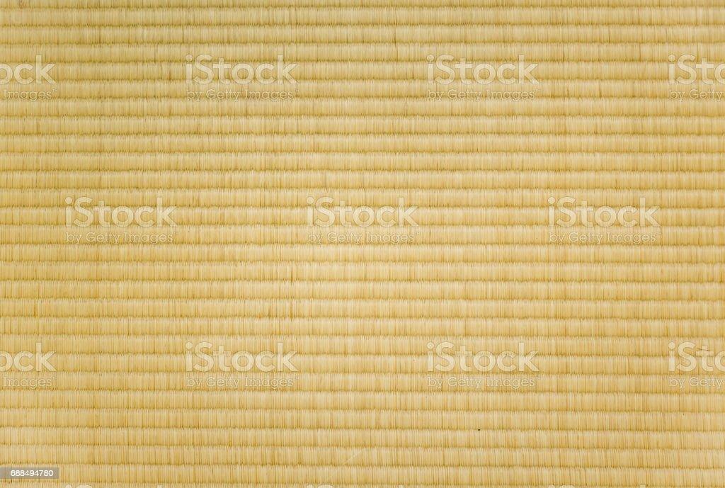 closeup of a tatami mat stock photo