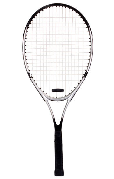 Close Up Of A Tennis Racket Stock Photo