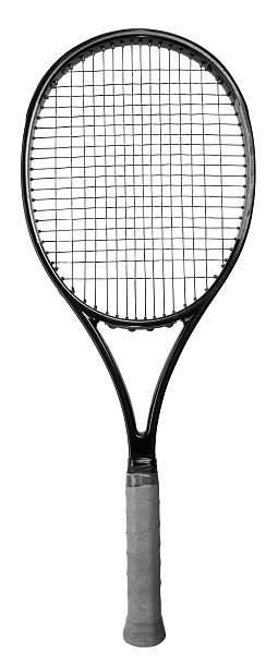 Gros plan d'une raquette de tennis - Photo