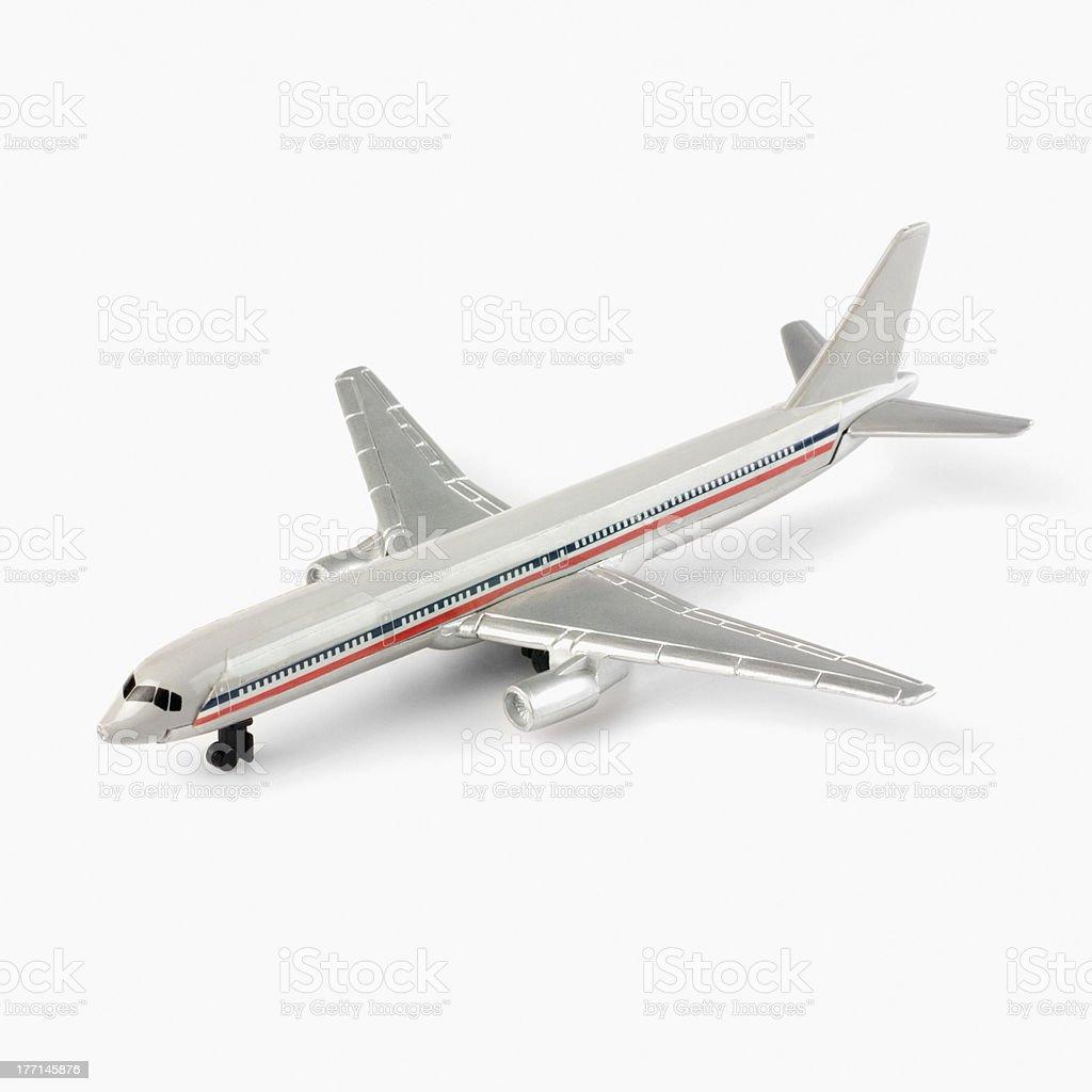 Gros plan d'un jouet Maquette d'avion - Photo