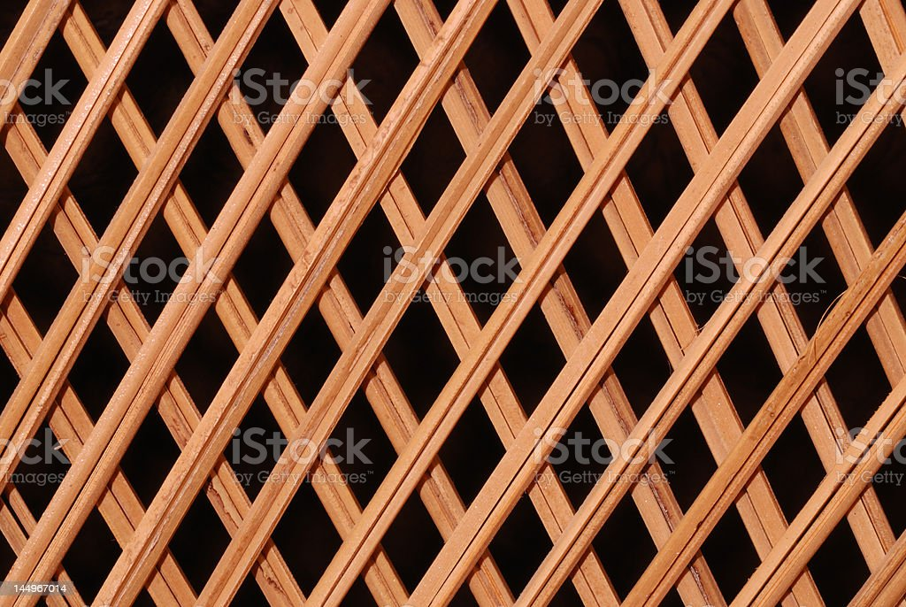 Close-up of a Wicker Chair royalty-free stock photo