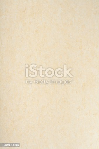 istock Close-up of a yellow background texture. Top view 943890696