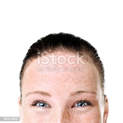 istock Close-up of a young woman 182516531