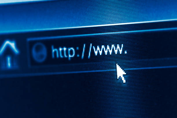 A internet de alta velocidad - foto de stock