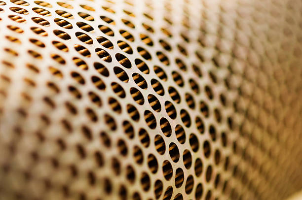 Close-up of an air cleaner stock photo