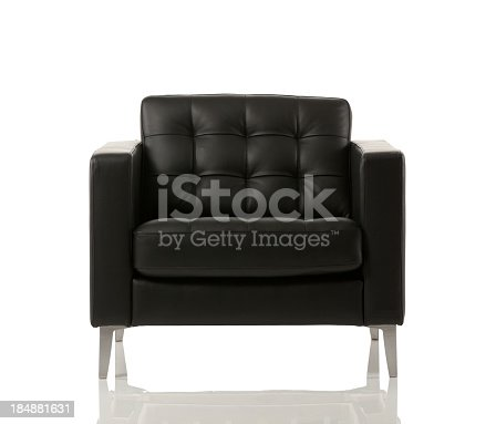 istock Close-up of an empty armchair 184881631