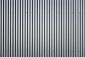 Close-up of an striped aluminum background