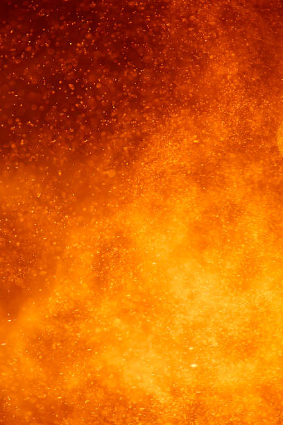 closeup of an volcano eruption abstract closeup view of an volcano eruption lava stock pictures, royalty-free photos & images