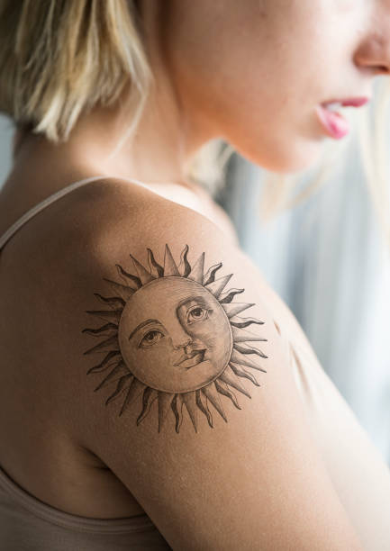 51 Female Forearm Tattoos Stock Photos Pictures Royalty Free Images Istock